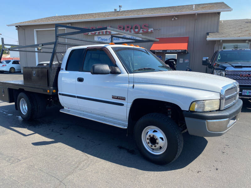 1999 Dodge Ram Pickup 3500 for sale at Dorn Brothers Truck and Auto Sales in Salem OR