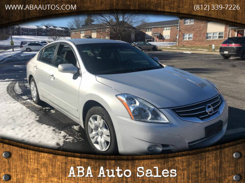 2010 Nissan Altima for sale at ABA Auto Sales in Bloomington IN