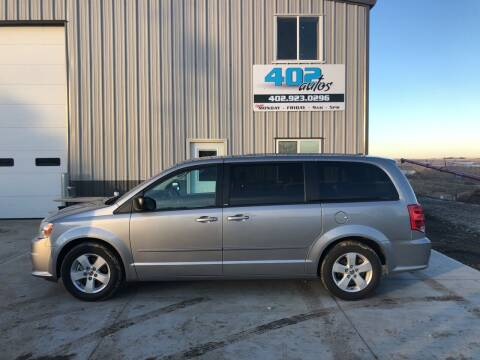 2013 Dodge Grand Caravan for sale at 402 Autos in Lindsay NE