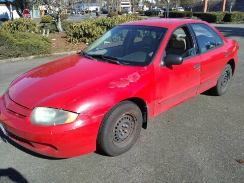 2004 Chevrolet Cavalier for sale at Seattle Motorsports in Shoreline WA