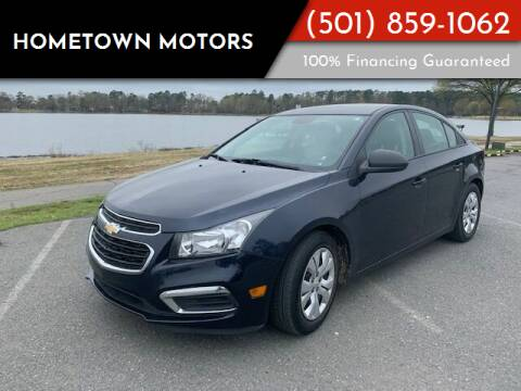 2015 Chevrolet Cruze for sale at Hometown Motors in Maumelle AR