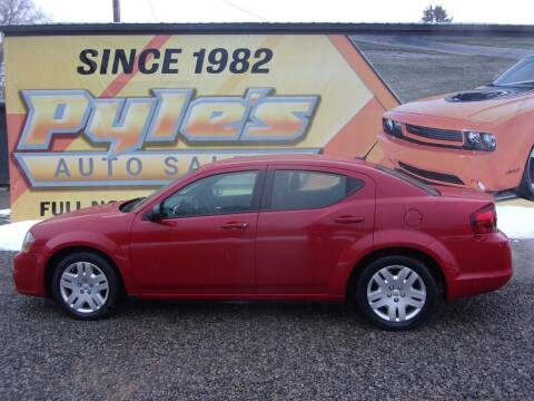 2014 Dodge Avenger for sale at Pyles Auto Sales in Kittanning PA