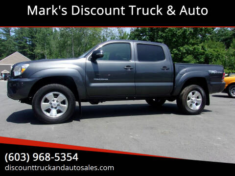 2015 Toyota Tacoma for sale at Mark's Discount Truck & Auto in Londonderry NH