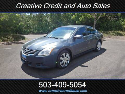 2011 Nissan Altima for sale at Creative Credit & Auto Sales in Salem OR