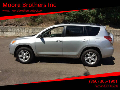 2012 Toyota RAV4 for sale at Moore Brothers Inc in Portland CT