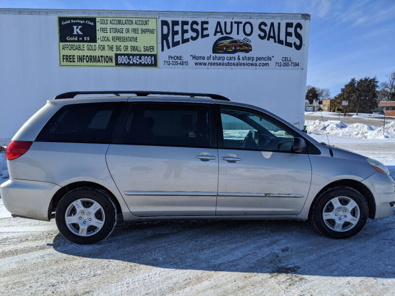 2006 Toyota Sienna for sale at Reese Auto Sales in Pocahontas IA