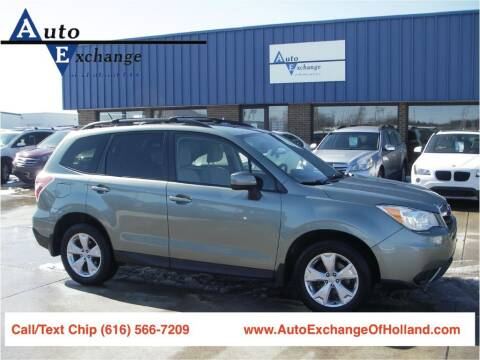 2014 Subaru Forester for sale at Auto Exchange Of Holland in Holland MI