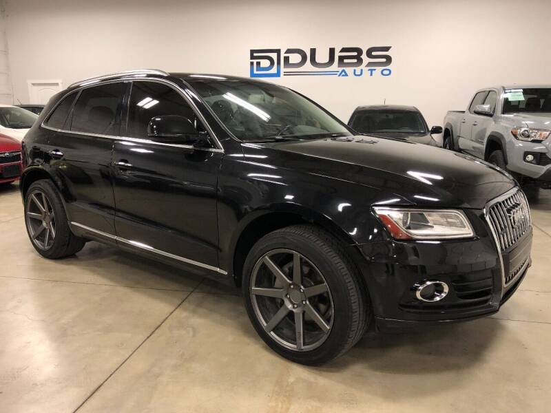 2015 Audi Q5 for sale at DUBS AUTO LLC in Clearfield UT