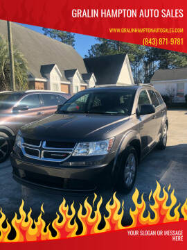 2017 Dodge Journey for sale at Gralin Hampton Auto Sales in Summerville SC