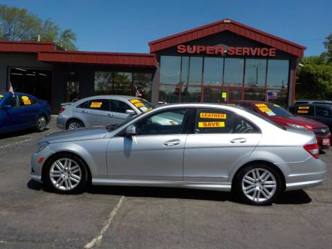 2009 Mercedes-Benz C-Class for sale at Super Service Used Cars in Milwaukee WI