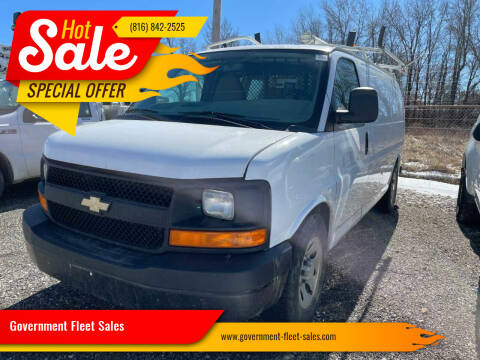 2012 Chevrolet Express Cargo for sale at Government Fleet Sales in Kansas City MO
