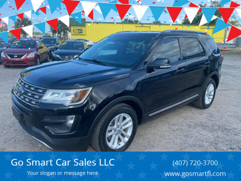 2016 Ford Explorer for sale at Go Smart Car Sales LLC in Winter Garden FL