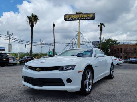 2014 Chevrolet Camaro for sale at A MOTORS SALES AND FINANCE - 5630 San Pedro Ave in San Antonio TX