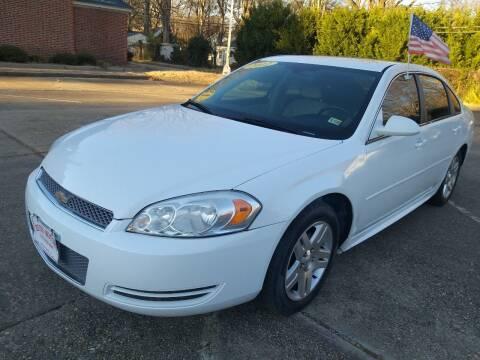 2012 Chevrolet Impala for sale at Hilton Motors Inc. in Newport News VA