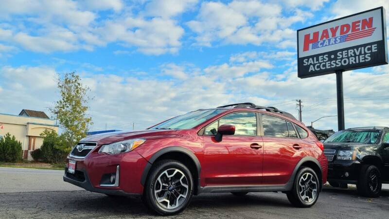 2016 Subaru Crosstrek for sale at Hayden Cars in Coeur D Alene ID