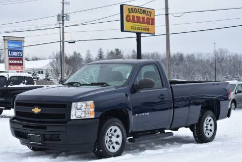 2012 Chevrolet Silverado 1500 for sale at Broadway Garage of Columbia County Inc. in Hudson NY