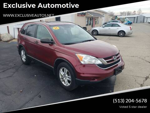 2010 Honda CR-V for sale at Exclusive Automotive in West Chester OH