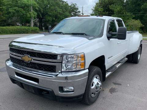 2011 Chevrolet Silverado 3500HD for sale at LUXURY AUTO MALL in Tampa FL