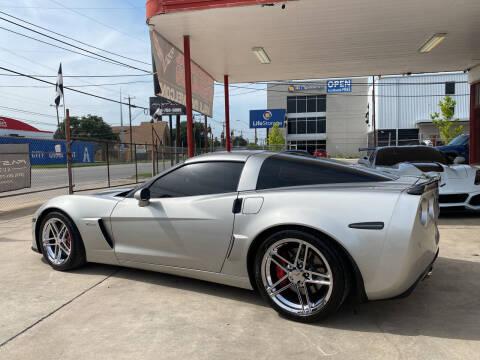 2008 Chevrolet Corvette for sale at FAST LANE AUTO SALES in San Antonio TX