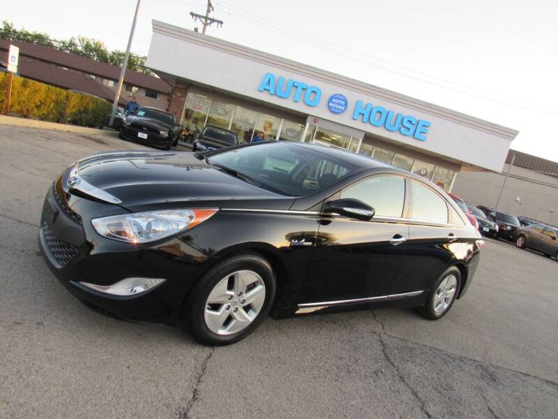 2011 Hyundai Sonata Hybrid for sale at Auto House Motors in Downers Grove IL
