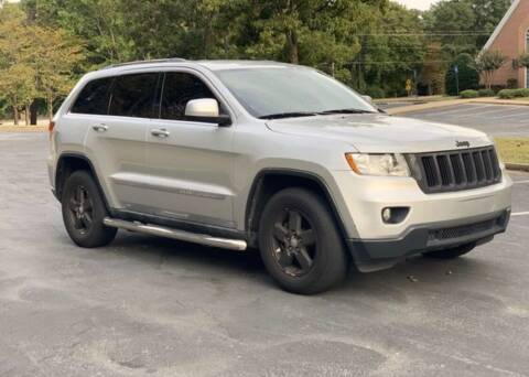 2011 Jeep Grand Cherokee for sale at Top Notch Luxury Motors in Decatur GA