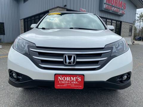 2014 Honda CR-V for sale at NORM'S USED CARS INC - Trucks By Norm's in Wiscasset ME