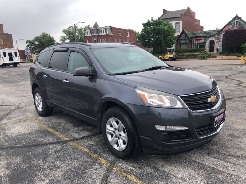 2014 Chevrolet Traverse for sale at DC Auto Sales Inc in Saint Louis MO