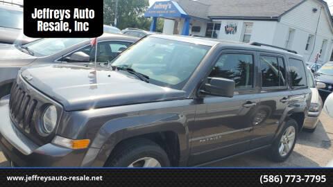 2017 Jeep Patriot for sale at Jeffreys Auto Resale, Inc in Clinton Township MI