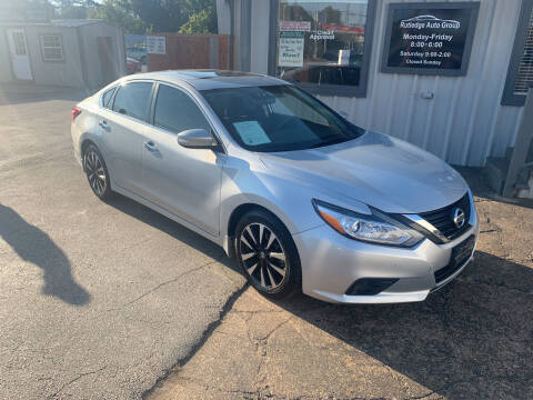 2017 Nissan Altima for sale at Rutledge Auto Group in Palestine TX