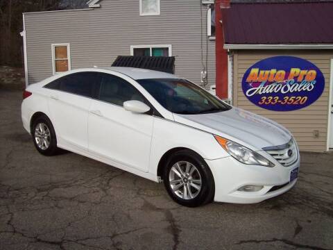 2013 Hyundai Sonata for sale at Auto Pro Auto Sales-797 Sabattus St. in Lewiston ME