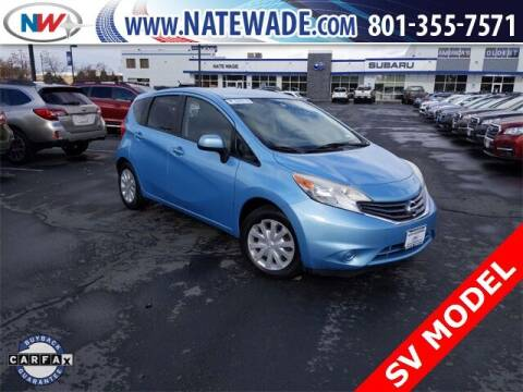 2014 Nissan Versa Note for sale at NATE WADE SUBARU in Salt Lake City UT