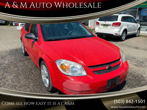 2008 Chevrolet Cobalt for sale at A & M Auto Wholesale in Tillamook OR