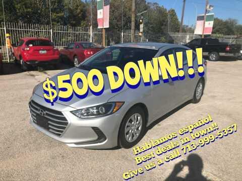 2017 Hyundai Elantra for sale at Saipan Auto Sales in Houston TX