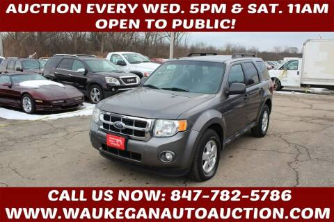 2012 Ford Escape for sale at Waukegan Auto Auction in Waukegan IL