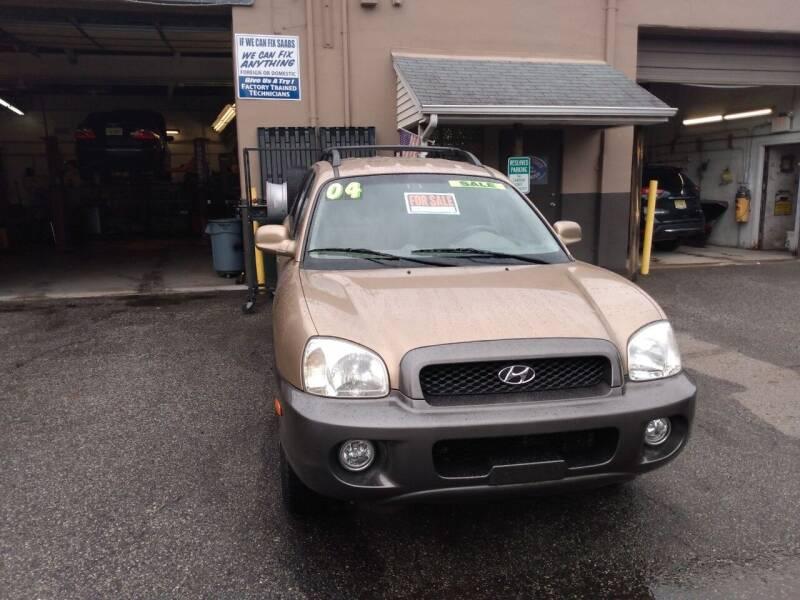 2004 Hyundai Santa Fe for sale at JMV Inc. in Bergenfield NJ