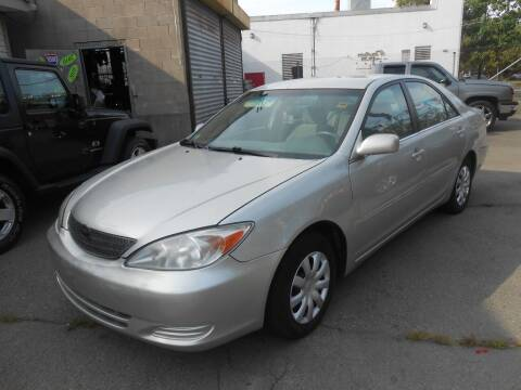2002 Toyota Camry for sale at N H AUTO WHOLESALERS in Roslindale MA