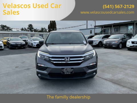 2017 Honda Pilot for sale at Velascos Used Car Sales in Hermiston OR