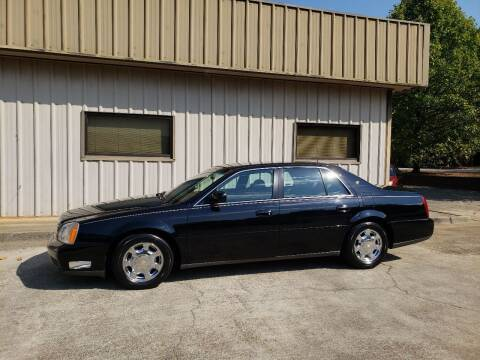 2001 Cadillac DeVille for sale at M & A Motors LLC in Marietta GA