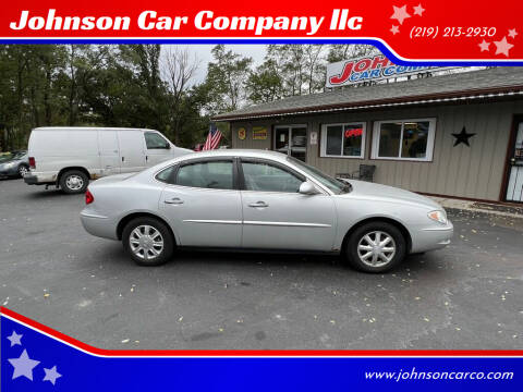 2005 Buick LaCrosse for sale at Johnson Car Company llc in Crown Point IN