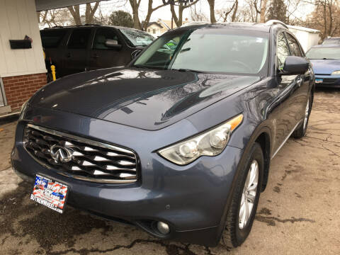 2010 Infiniti FX35 for sale at New Wheels in Glendale Heights IL