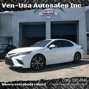 2018 Toyota Camry for sale at Ven-Usa Autosales Inc in Miami FL
