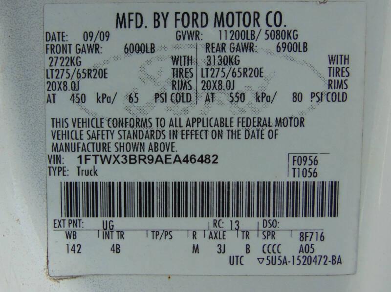 2010 Ford F-350 Super Duty 4x4 Lariat 4dr SuperCab 6.8 ft. SB SRW Pickup - Waterbury CT