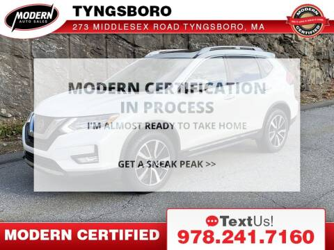 2017 Nissan Rogue for sale at Modern Auto Sales in Tyngsboro MA