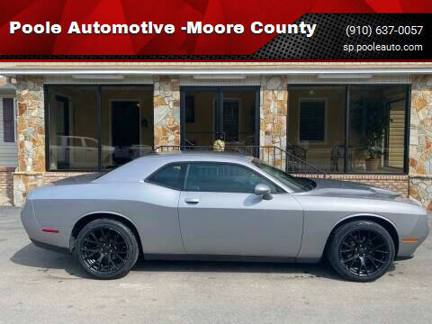 2017 Dodge Challenger for sale at Poole Automotive in Laurinburg NC