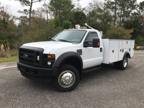 2010 Ford F-550 Super Duty for sale at VICTORY LANE AUTO SALES in Port Richey FL