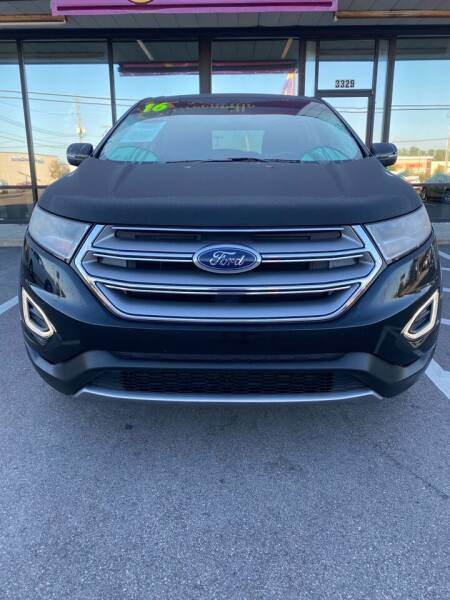 2016 Ford Edge for sale at Greenville Motor Company in Greenville NC