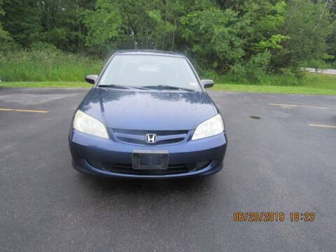 2004 Honda Civic for sale at Heritage Truck and Auto Inc. in Londonderry NH