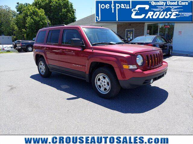 2015 Jeep Patriot for sale at Joe and Paul Crouse Inc. in Columbia PA