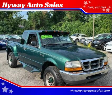 1999 Ford Ranger for sale at Hyway Auto Sales in Lumberton NJ