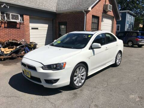 2008 Mitsubishi Lancer for sale at Emory Street Auto Sales and Service in Attleboro MA
